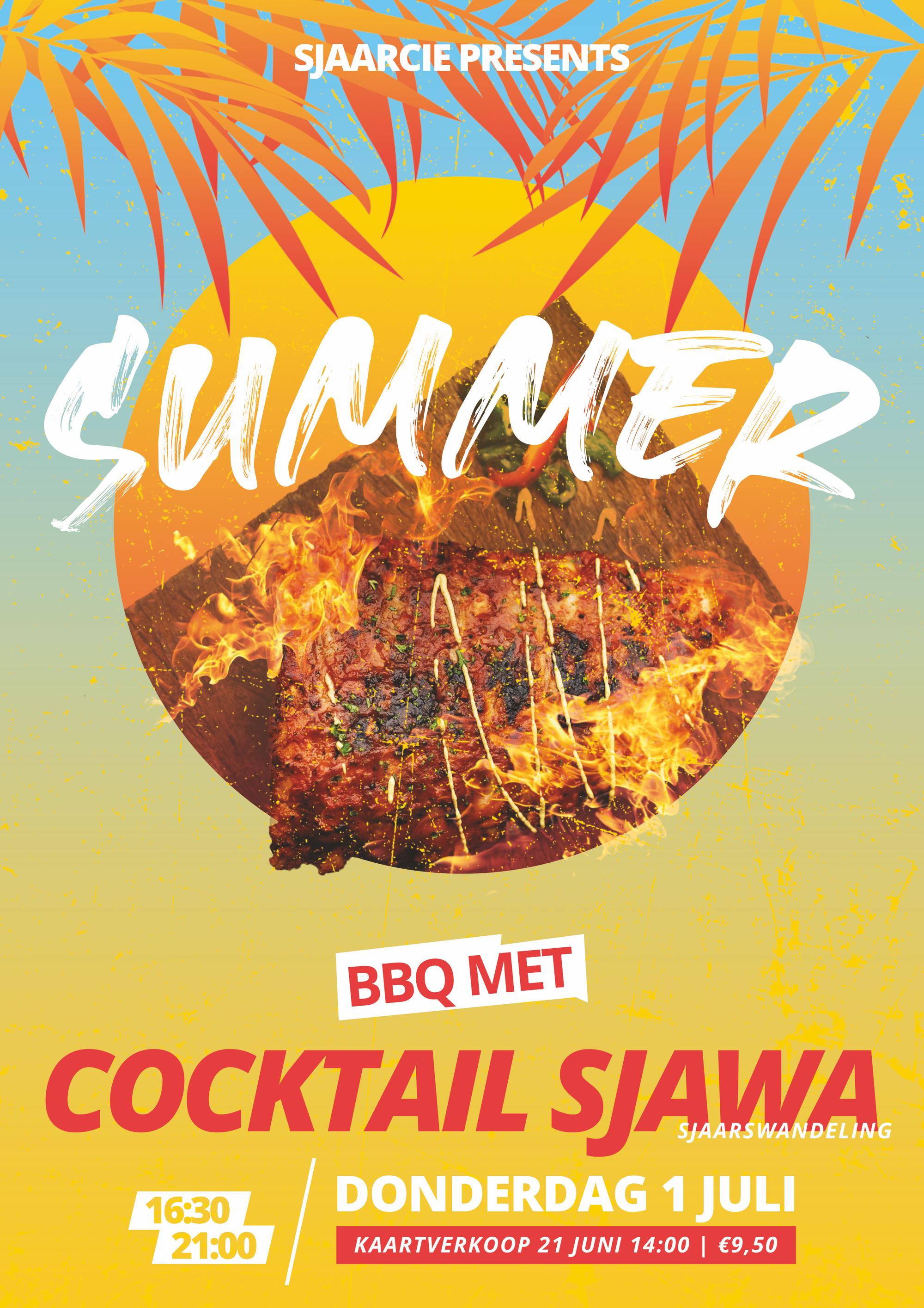 MFVN Eerstejaarsbarbecue met Sjawa (Sjaarswandeling)