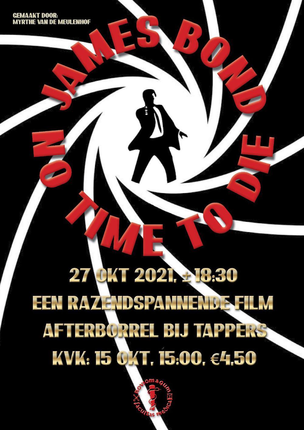 MFVN Filmactiviteit: No Time to Die