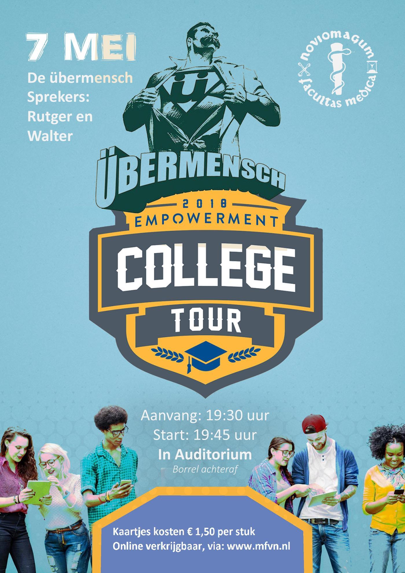 College Tour: de übermensch