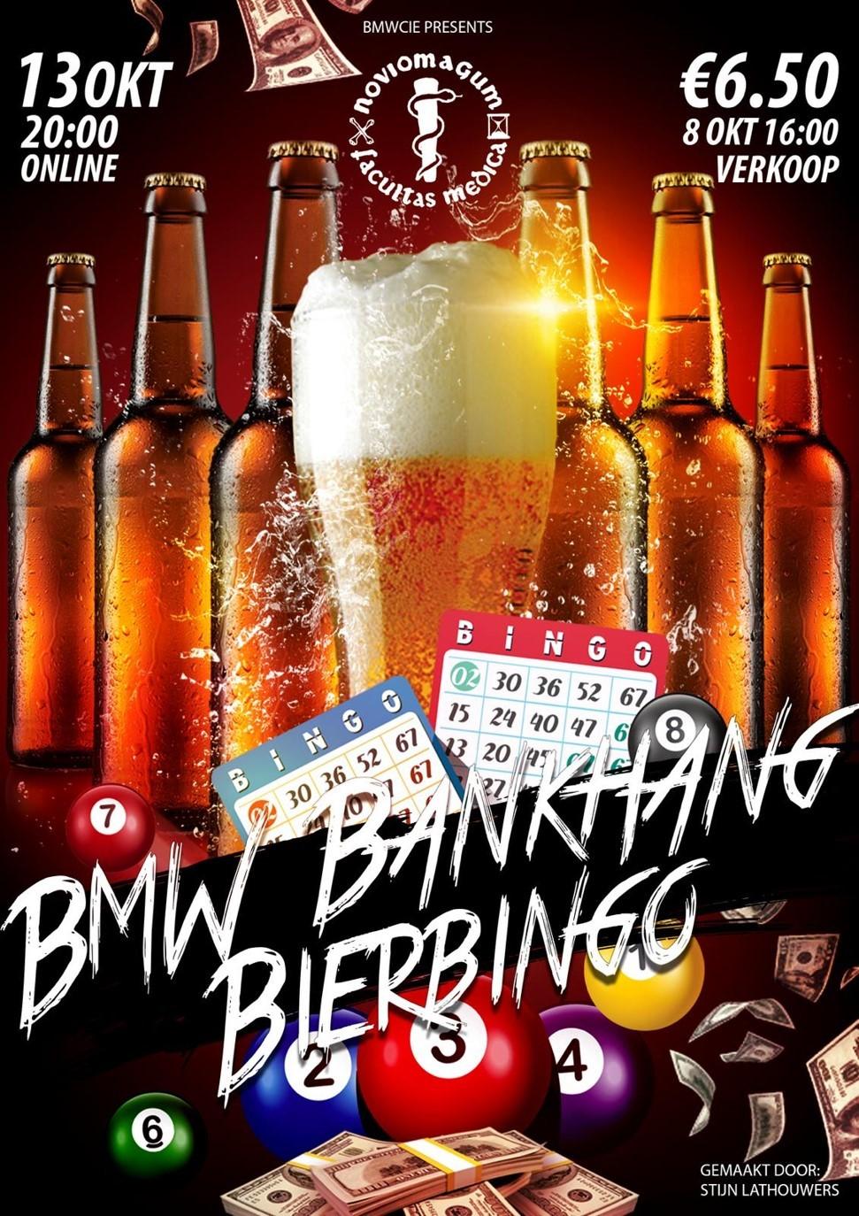 BMW BankhangBierBingo (ook voor GNK-studenten!)