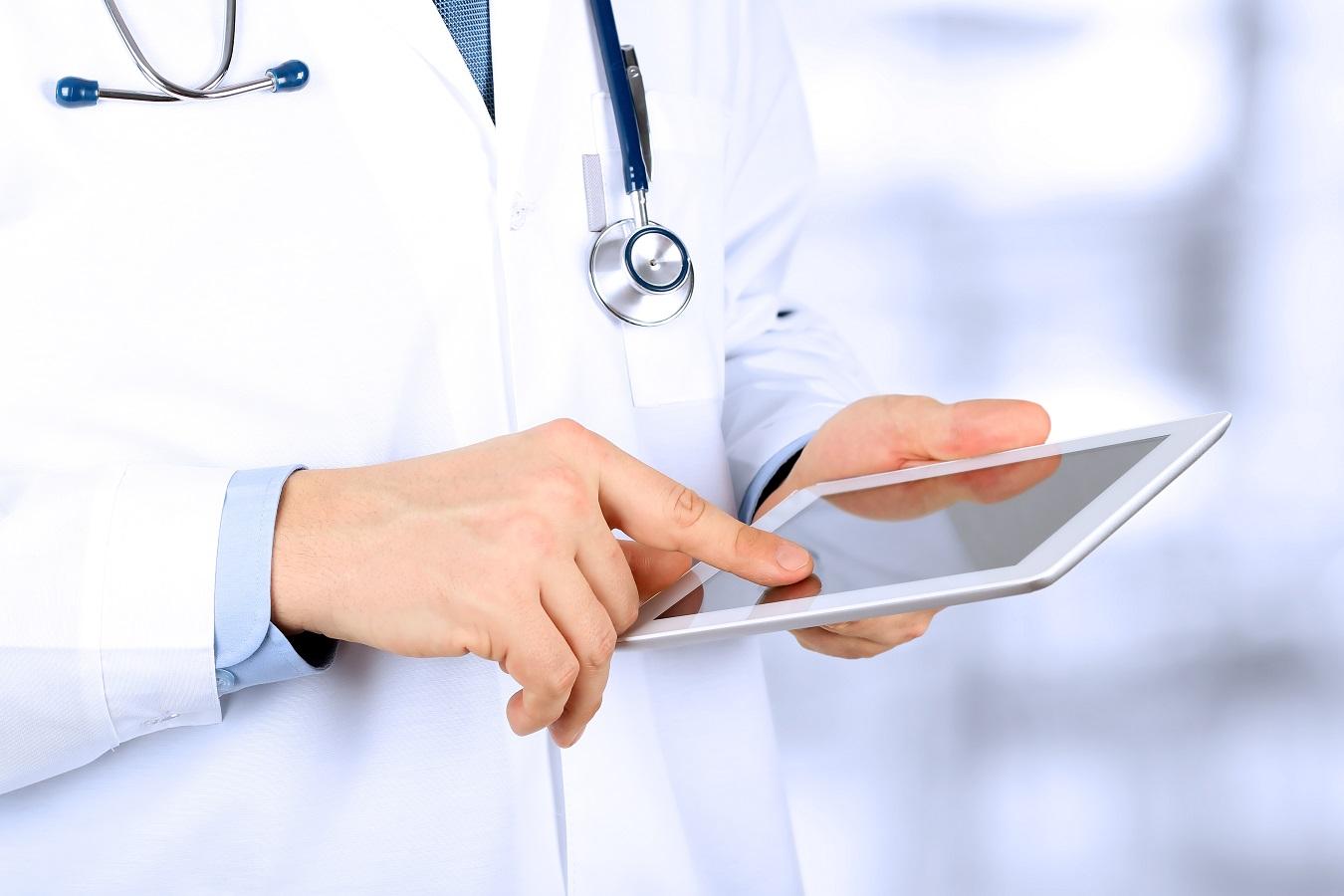 Werken met een mini-tablet tijdens de master geneeskunde